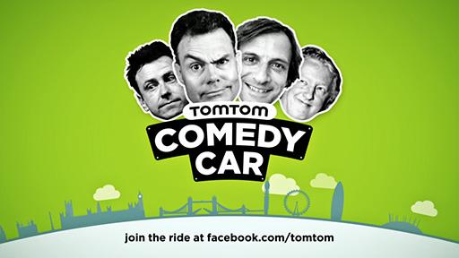 TomTom Comedy Car