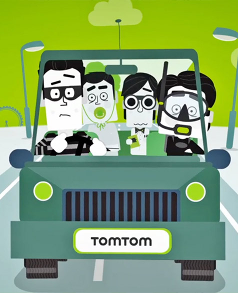 2d: TomTom – Comedy Car