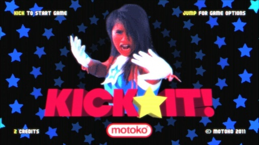 Kick it! – retro game