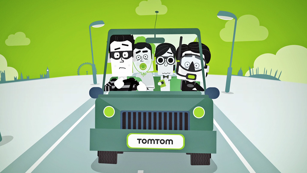 TomTom – Comedy Car