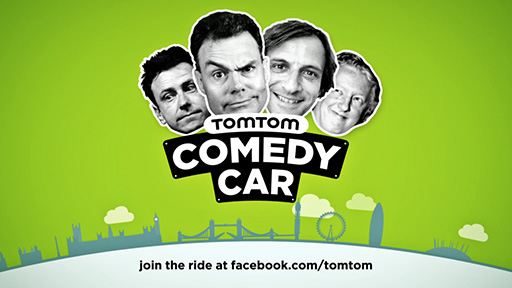 TomTom Comedy Car